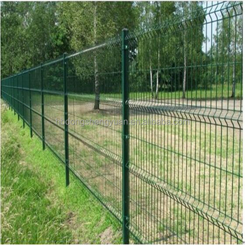 Triangular Bending Wire Mesh fence/Dirickk Axis for protection