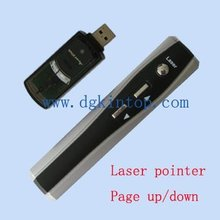 pc remote control laser pointer/powerpoint laser pen