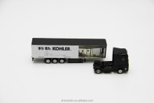 Die cast mini truck toy Cast metal truck scale toy 28cm die cast model truck