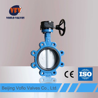 lug type dn250 closure butterfly valve