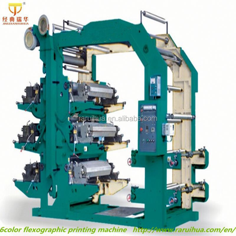 8 Color High Speed Flexo Printing Machine1000mm