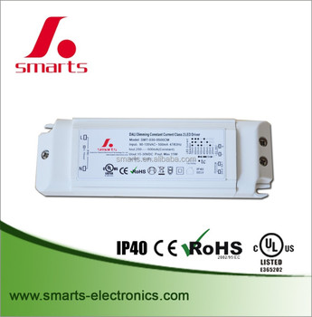 UL CE listed dali led driver constant current 350ma 17w 18w for led bulbs