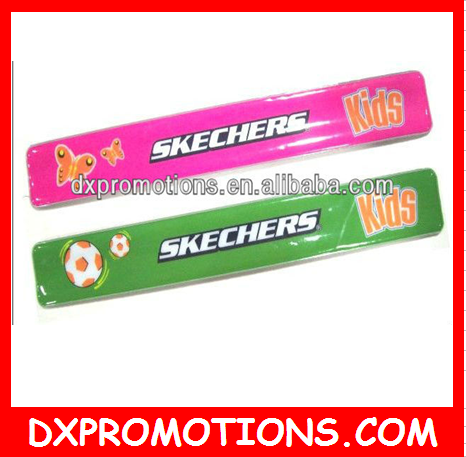 Reflective snap band for promotion/snap wrap