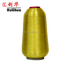 Ms Type Gold Embroidery Polyester Metallic Yarn For Weaving