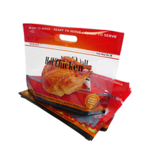 Chicken bag microwaveable hot plastic packages for roasted chicken