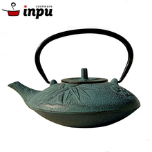 High quality castiron fashioned enamel old teapot with metal lid