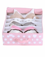 Wholesale reusable bra and underwear storage boxes