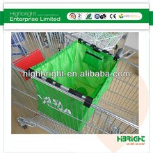 supermarket grocery shopping cart bag