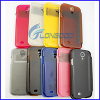 With Smart Pocket Caller ID & Sleep / Wake-up Function Flip Leather Case Cover for Samsung Galaxy S4 S IV / i9500