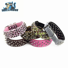2015 Newest Cheap Best Quality Spiked Pitbull Dog Collars