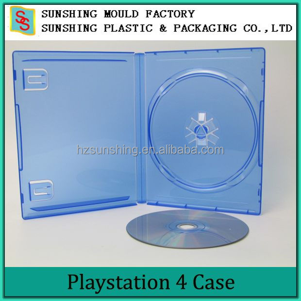 Durable PS4 CD Size DVD Game Case XBOX PP single Game Case
