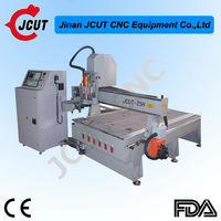 Hot sale and professional DSP control with G code 3d cnc wood carving router JCUT- 25H(