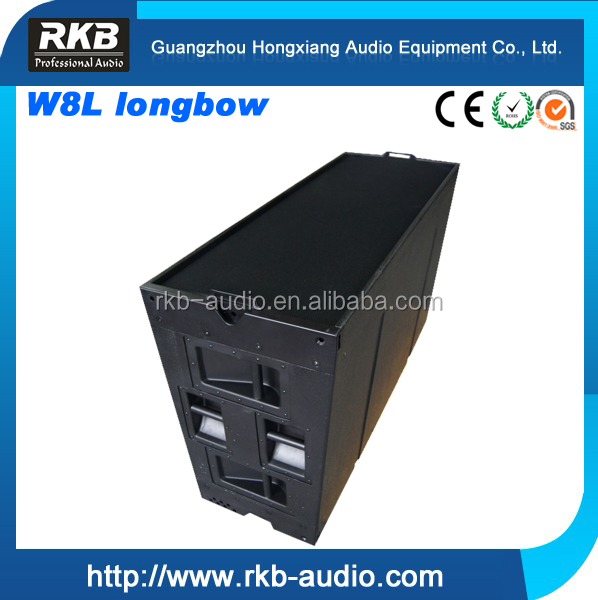 W8L LONGBOW single 15 inch 3 way audio line array speaker