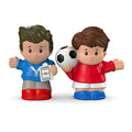 Custom plastic football player dolls