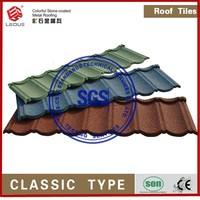 stone coated roofing sheet/metal roofing shingle