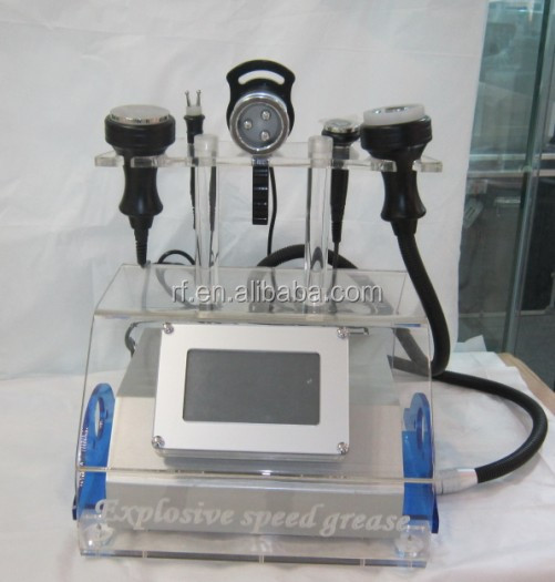 Newest radio frequency multipolar RF and cavitation slimming machine