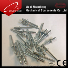 China manufacturer all sizes open type aluminum pop rivets
