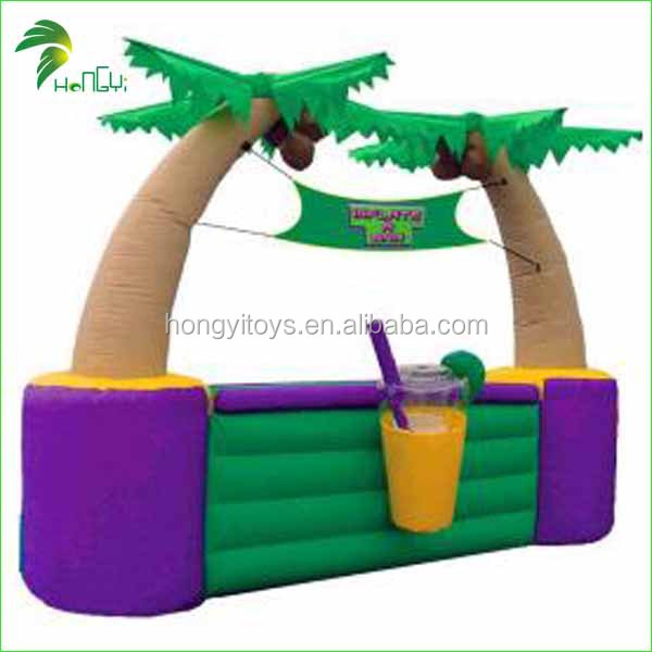 2015 customized inflatable bar with high quality