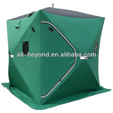 camping equipment 300D pop up quick open ice cube winter fishing tent