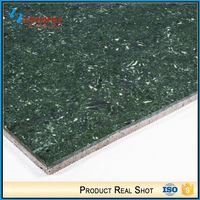 Foshan Bright Color Non Slip Polished Floor Kitchen Green Tiles