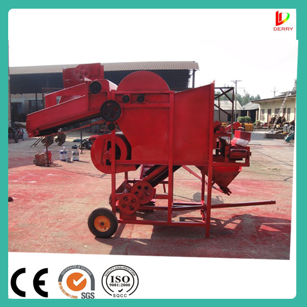 6 acre per hour Peanut Picker/Picking Machine for dry or wet peanut seedling