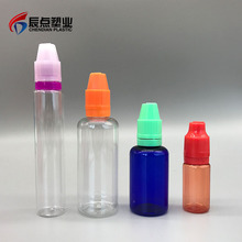 China Wholesale Websites ELiquid Small 50ml 30ml Plastic E Cigarette Liquid PET Dropper Squeeze Bottles Twist Caps