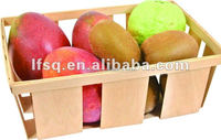 LFP-BK-001 Wood fruit crates with size 260*125*40mm