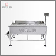 Weighlin 2018 New Modular Hand manual 10 12 14 head weigher for noodle, salad, tomato, meat, sticky products filling machine