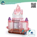 Plastic Transparent Dream Castle new premium Small Animal Cages Hamster Cage Equipped with rolling star wheel