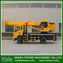 Truck mounted crane with knuckle boom,telescoping boom mobile crane,truck crane
