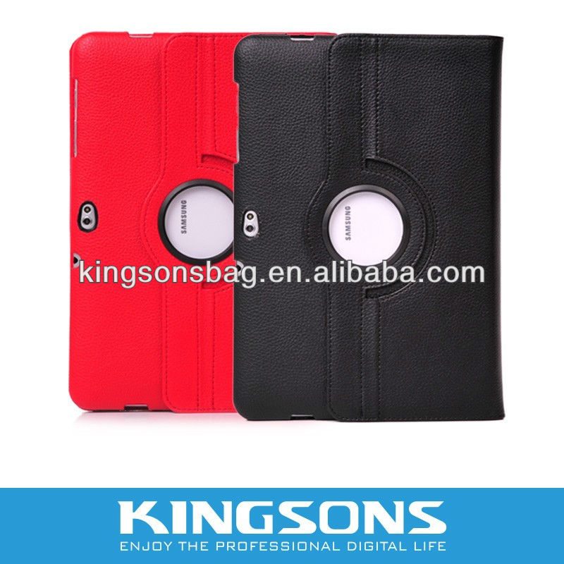Personality Design Rotation & Stand function case for Samsung 10.1'' tablet PC K8344U
