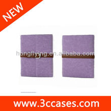 Case for iPad mini, made of PU leather/soft velvet