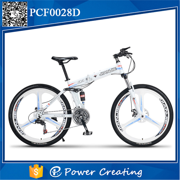 China manufacturer adult 21 speeds folding bicycle carbon steel seat post