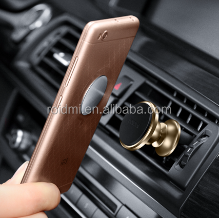 Xiaomi Roidmi 360 degree rotation cell phone holder car air vent silicone magnetic phone holder