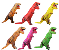 Wholesale Costume Men's t-rex dinasour Adult Inflatable Air Blown halloween dragon inflatable costume