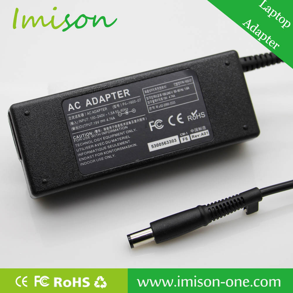 AC Adapter For HP Laptop 19v 4.74a AC DC Adapter From Imison