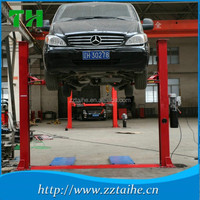China Two Post Car Lift Ramps For Sale , Car Lift Manufacturer WX-2-4000A