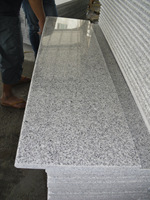 Bacuo white granite G603 Granite Stairs step prices
