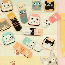 Cheap fancy cute design custom animal magnetic bookmarks