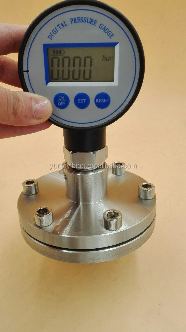 Petroleum digital pressure gauge