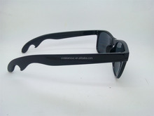 promotional Bottle opener sun glasses cheap party sunglasses DLO16C104