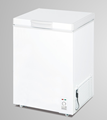 New type single top open door chest freezer 108L