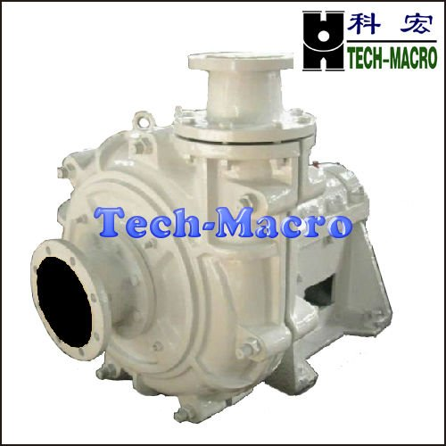 Wear resistant heavy minerals centrifugal ash slurry pump series ZGB for mill discharge