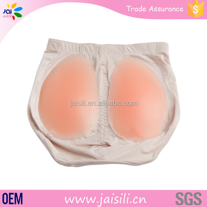 best selling artificial silicone buttock and hip pads for women