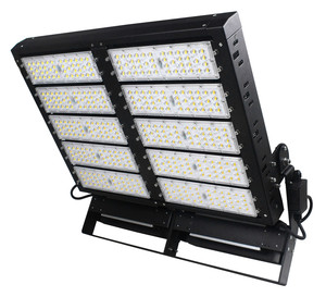 Narrow Led Beam Angle 1000w Football Stadium Led Floodlight High Mast Led Lights
