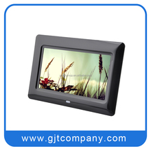 Wholesale multi design digital photo frame 7 inch