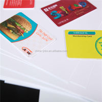 Business Card With All Color Printing Plastic PVC