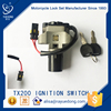 YUEDONG TX200 motorcycle spare parts ignition switch two wire keeway parts