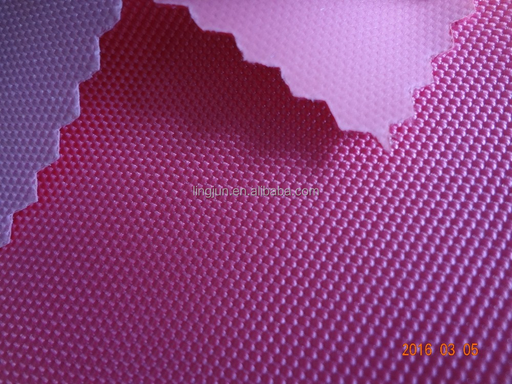 pvc coated nylon fabric, 100% nylon oxford fabric for bag, 1680D nylon with different coating