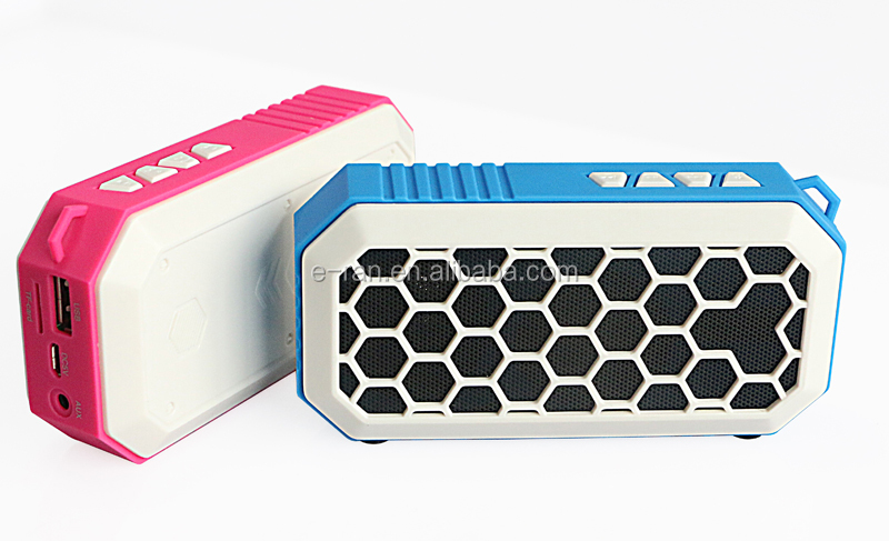 Professional factory mini portable bluetooth speaker with fm radio